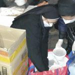 Voluntárias na Preparação de Alimentos
