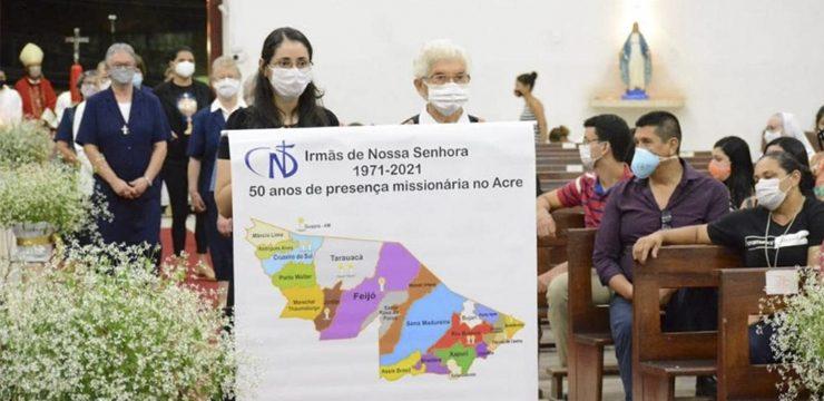 Ucapan Syukur atas 50 Tahun SND Berkarya di Daerah Amazon, Acre, Brazil