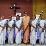 Postulantes de Patna partilham sobre o dia do seu ingresso
